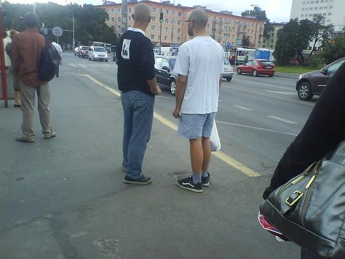 Due polacchi alla fermata