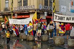Free Tibet Protest, Munich