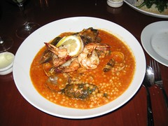 The Seafood Tagine from Zov's Bistro. (08/15/2008)
