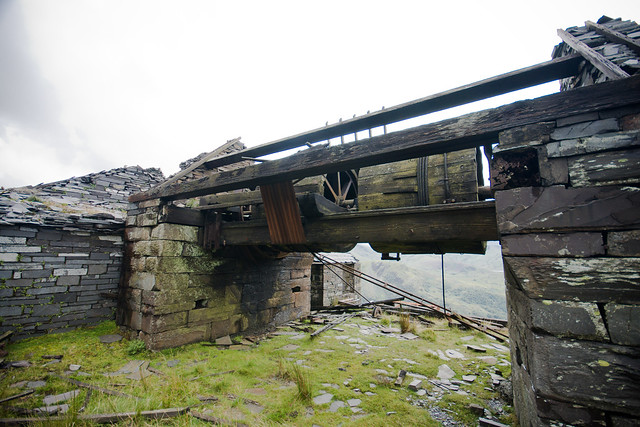 Dinorwic-76 B Trwnc incline drumhouse (by Ben Cooper)