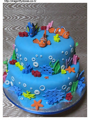Finding Nemo Cake (Dragonfly Doces) Tags: sea cake finding nemo pixar bolo dory marlin