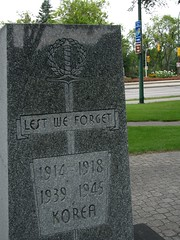 West Kildonan War Monument