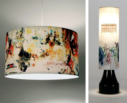 graffiti lamps