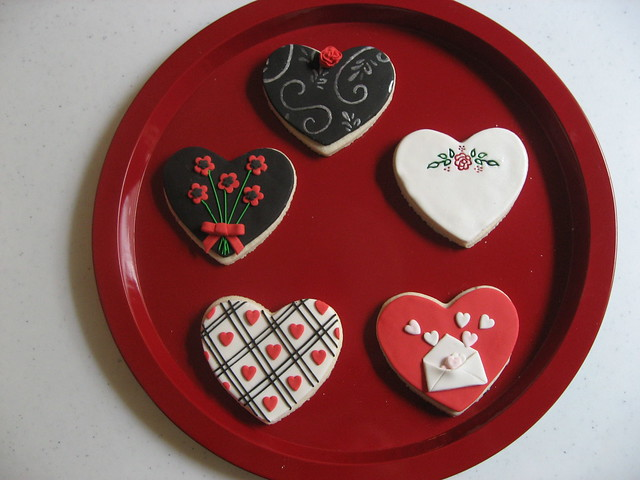 valentines cookie class - mine