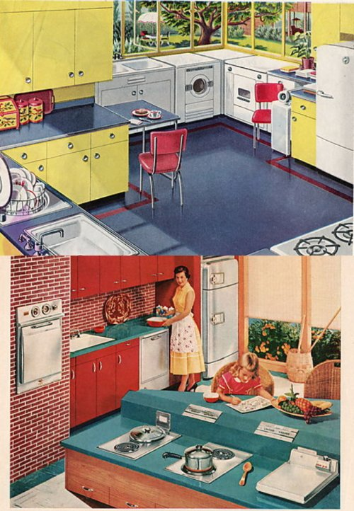 Kitchens from the '50s