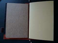 P1010039 (Accidental-Tourist) Tags: notebook handmade diary journal chameleon tagebuch midori handgemacht reisetagebuch tjbookarts travelernotebook panasoniclumixlx3