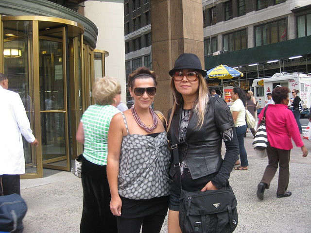 Jenn and Sharon in NYC by Jenn Mapp for Cibu International