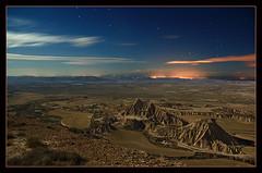 Bardenas. 13 Sept. 2008 desde el Ralln (martin zalba) Tags: espaa night stars spain desert estrellas nocturna desierto navarra bardenas sigma1020 canon50d martinzalba