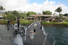 USS Bowfin (cliff1066) Tags: bridge museum hawaii oahu navy submarine worldwarii pearlharbor missile torpedo harpoon controlroom poseidon usnavy officer wahoo engineroom polaris galley ussmissouri deckgun antiaircraft caliber ballistic navigationsystem parche ussbowfin historiclandmark conningtower wardroom battleflags submarinemuseum quadgun