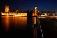 Houses of Parliament (Globalviewfinder) Tags: city uk longexposure travel bridge blue houses light sunset vacation england sky holiday reflection building guy london tower clock water westminster thames night last river dark evening big twilight europe long exposure gun slow bell ben britain famous capital trails parliament commons icon powder backpack british iconic plot lords gunpowder fawkes slowexposure colourartaward