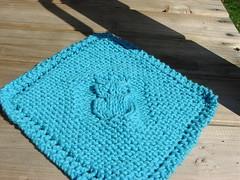 owl dish cloth