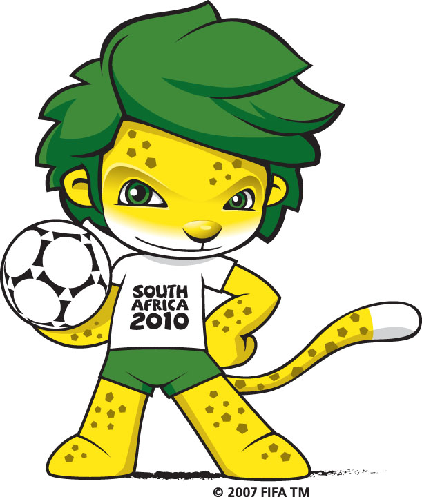 Zakumi: Mascota del Mundial de Fútbol Sudáfrica 2010