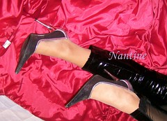 Black - silver pumps (87) (Kwnstantina) Tags: black sexy feet female fetish silver greek foot shoes toes pumps highheels toe legs boots nails barefoot heels latex sole soles schwarz damen nylon footfetish pvc fuss anklet sexylegs lack erotik highheeledshoes fetisch longnails sexyshoes longtoes pvccatsuit sexyfeet feetfetish footjob dirtysoles pointyheels nylonfeet sexyheel shoejob nylonfoot womaninhighheels heelfetish sexypumps sexyheels overkneeboots shoescollection sexyfoot greekfeet leatherpumps shinypumps silverheels sexyfemalelegs pointypumps   sexywomenheels toesinnylons greekfootfemale femalegreekfoot blackheeledpumps silverheeledpumps glossypumps metalspitze elegantheels fetischschuh fetischschuhe erotikheels