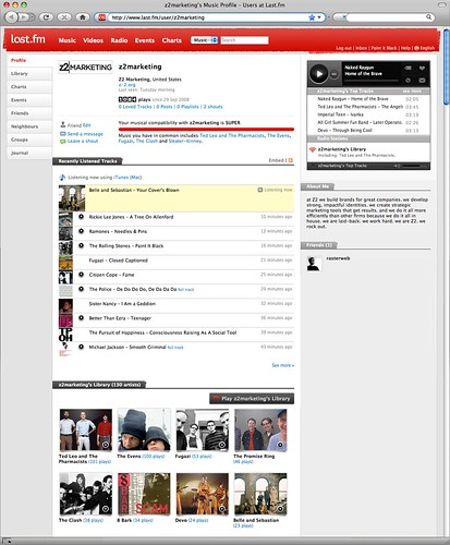 Z2 Marketing at last.fm