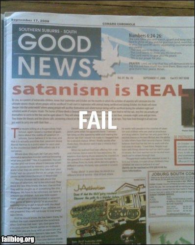 FAIL Gospel