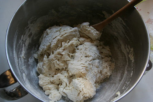 dough just after forming