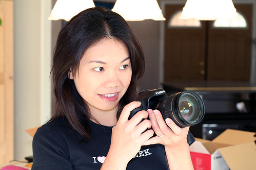 Ouu la la, my new Canon EOS 40D