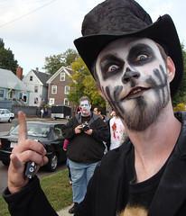 2008 Zombie Walk - Salem MA and 100 strangers, - #8