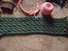 Brotherly Love Scarf: Irish Hiking Scarf