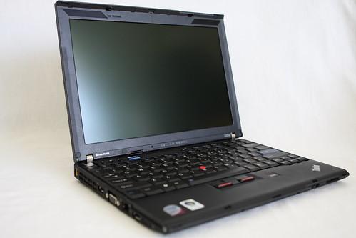 Giskard, my new Lenovo Thinkpad X200s
