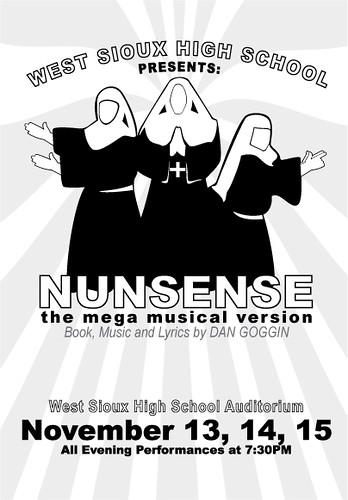 Nunsense: the mega musical program