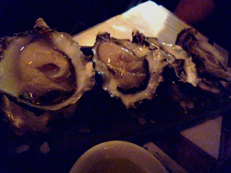 St Helen's (Tasmania) oysters with lemon