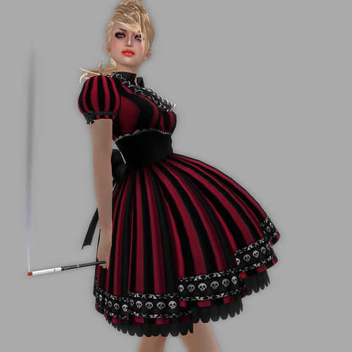 katat0nik Striped Dollie Dress05