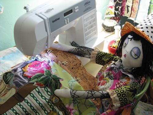 etheldreada sewing a spell