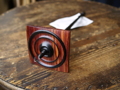 Spindlewood ebony/tulipwood 1 1/4 oz
