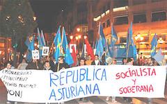 Manifestacin Repblica Asturiana Socialista y Soberana (Fai! asturies) Tags: republica manifestacion fai independencia autodeterminacion socialismo asturies asturiana izquierda socialista soberana dixebra
