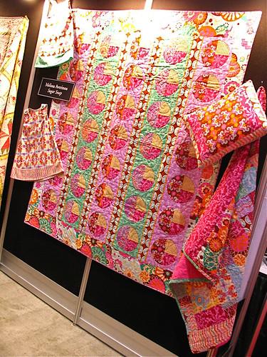 Melissa Averinos Sugar Snap display