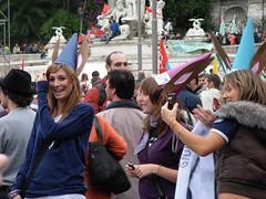 Orecchie d'asino (Gaiux) Tags: roma università protesta 2008 proteste scuola manifestazione sciopero riforma facoltà finanziaria istruzione sindacato sindacati gelmini 30102008 legge133