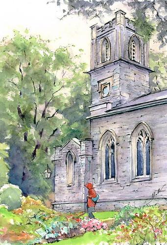 St.Union Church (Rydal Mount, Cumbria U.K.) セントユニオン教会(ライダル・マウント湖水地方) by Yuzo Komori