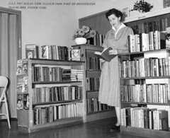 Ocean View Branch, Orange County Public Library, 1957 (Orange County Archives) Tags: california history library librarian historical southerncalifornia orangecounty oceanview huntingtonbeach liblibs orangecountylibrary thesearchers orangecountypubliclibrary emptysaddles orangecountyarchives orangecountyhistory orangecountyfreelibrary fanniecase montanaermine neveranotherlove gipsyparlour catchakiller dardanellesderelict fictionsection