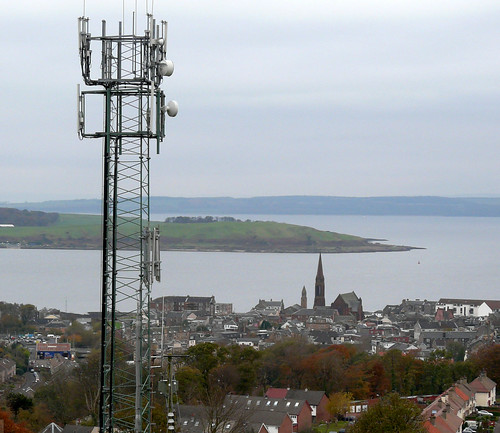 Mast view above Largs 06Nov08