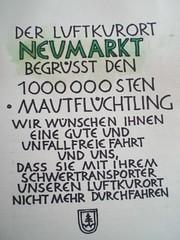 1 000 000ster Mautfluechtling