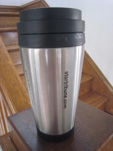 StarTribune.com Travel Mug