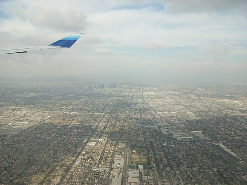 Downtown LA from above
