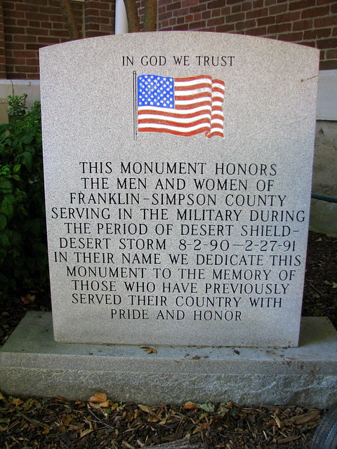 Simpson Co. Desert Storm Memorial
