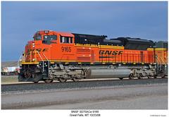BNSF SD70ACe 9165 (Robert W. Thomson) Tags: bnsf burlingtonnorthernsantafe emd diesel locomotive sixaxle sd70 sd70ace train trains trainengine railroad railway greatfalls montana