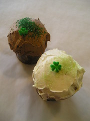 St Patty's Cupcakes