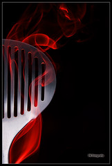 The Skimmer's soul (Filipe Batista) Tags: light reflection luz canon studio smoke spoon estudio products reflexos fumo produtos canonef24105mmf4lisusm 40d filipebatista