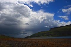 The Sky On Skye (jakeof) Tags: sea mountains skye water clouds scotland ih justclouds lochslappin