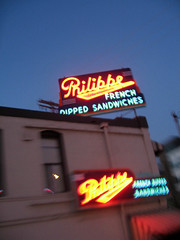 Philippe's (sha in LA) Tags: losangeles downtown neon chinatown mona philippes museumofneonart