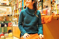 Wear what you knit.And knit again. (sifis) Tags: wool shop sweater nikon knitting knit athens cardigan pullover alpaka sakalak