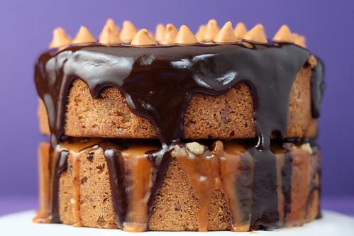 Brownie Birthday Cakes