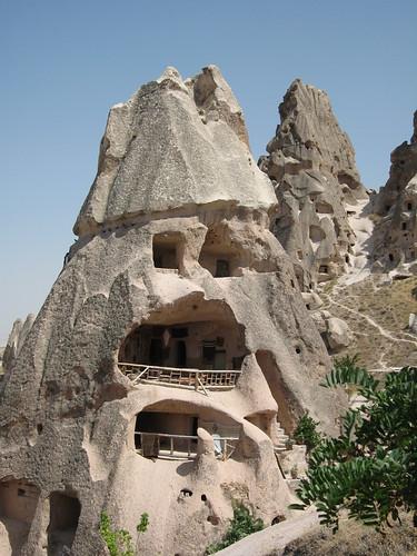 A cottage in Capadocia- Un chalet en la Capadocia por mgeroneslu.