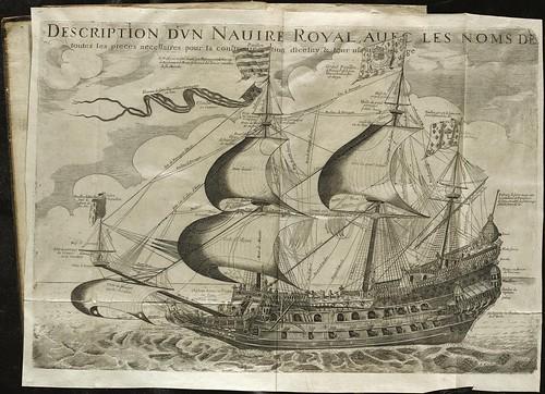 Georges Fournier 'Hydrographie contenant la theorie et la pratique de toutes les parties de la navigation' 1643