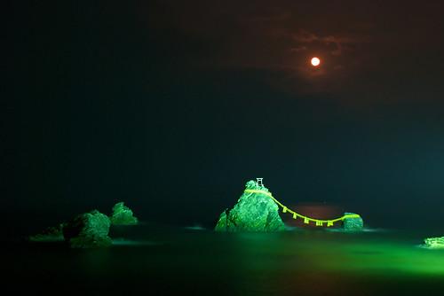 Meoto-iwa. Las rocas casadas de Futami. Ise-Shima (2)