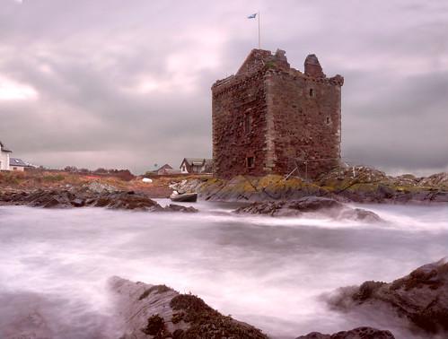 Portencross castle 26Nov08